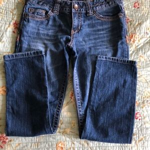 Aeropostale ankle jeans